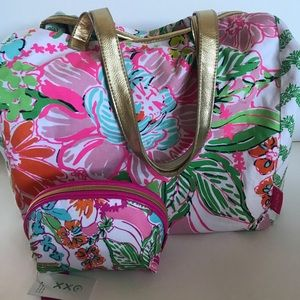 Lilly Pulitzer for Target Nosie Posey Tote & Pouch